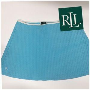 Lauren Ralph Lauren Tennis Blue mini Skirt